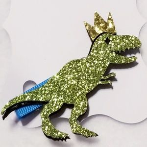 Other - T rex hair clip